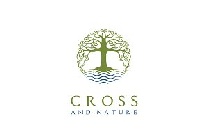Nature Tree Church/Christian Logo