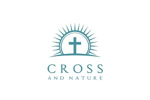 Nature Church/Christian/Jesus logo