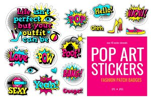 Fashion patch badges #2
