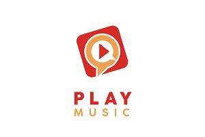 Play Music/Video Button Logo