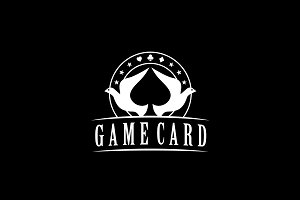 Dove Spade Poker logo design