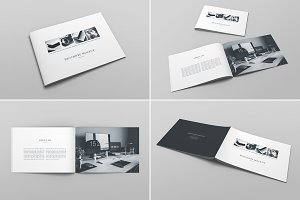 Brochure Catalog Mockup Vol. 1