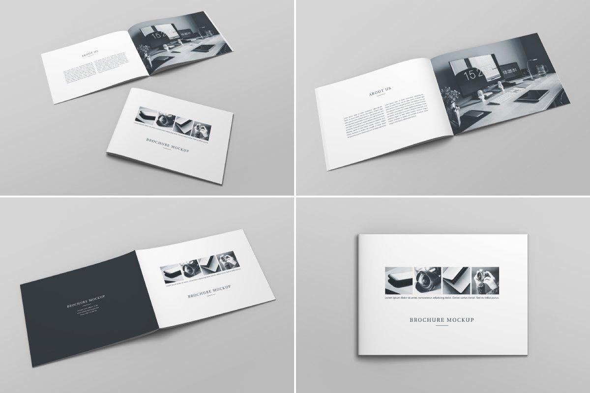 Brochure Catalog Mockup Vol. 2