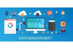 Data management gradient concept