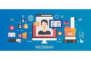 Online webinar gradient concept