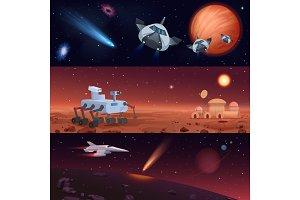 Universe exploration, stars conquest