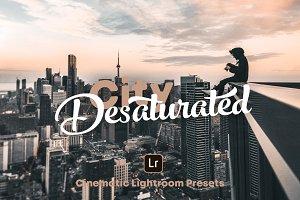 City Desaturated - Lightroom Presets