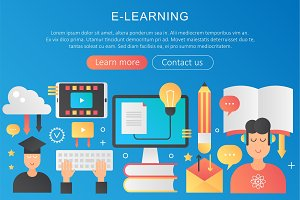 Online learning gradient concept
