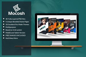 Mocosh - Multi-Purpose PSD Template