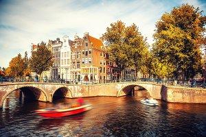 Amsterdam at autumn