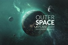 Outer Space Planetary Template