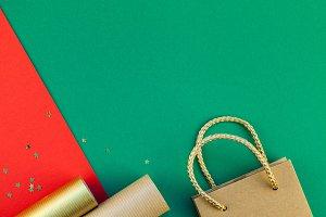 New Year or Christmas presents prepa