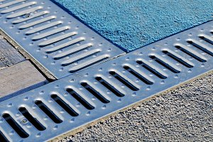 Drain lattice for removal water