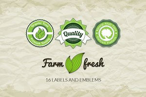 Labels and emblems