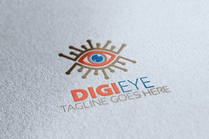 Digital Eye Logo