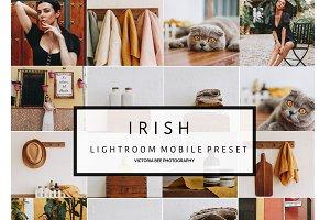 Mobile Lightroom Preset IRISH