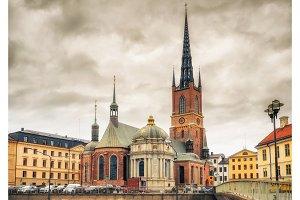 Riddarholm Church In Stockholm
