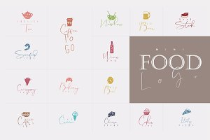 Mini Food Logo