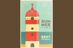 Summer Holidays Card