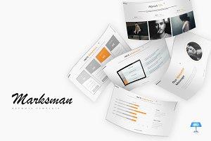 Marksman - Keynote Template