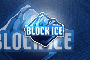 Block Ice - Mascot & Esport Logo
