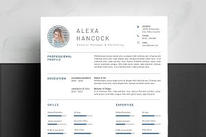 Word Resume Template + Cover Letter