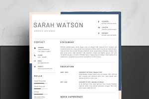 Ms. Word Resume Template