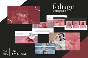 Foliage Google Slide Template