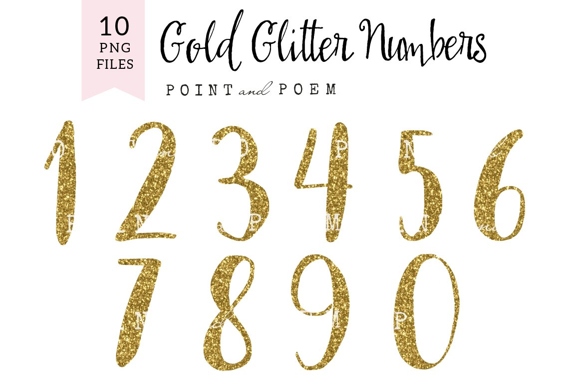 Birthday numbers clipart Photos, Graphics, Fonts, Themes ...