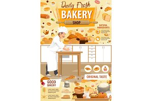 Bakery and patisserie, pastry, baker