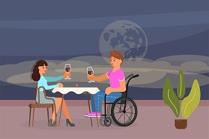 Romantic dating of disabled people