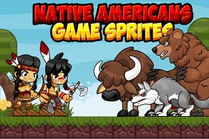 Native Americans - Game Sprites