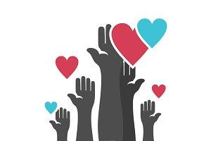 Hand heart4