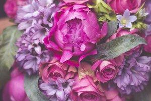 Pink Floral Wedding Bouquet
