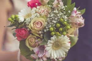 Floral Wedding Bouquet