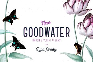 Goodwater font collection