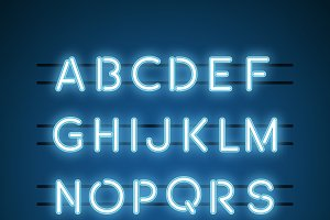 The English Alphabet capital letters
