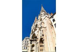 Saint Nizier Church in Lyon, France