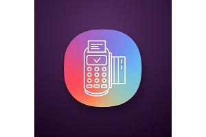 Successful POS terminal app icon