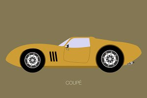 classic coupe car
