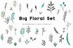 Big Floral Set