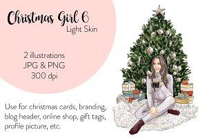 Christmas Girl 6 - Light Skin