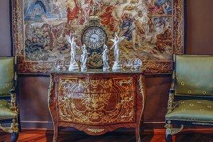 Antique Empire cabinet
