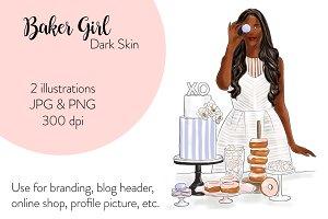 Baker Girl - Dark Skin