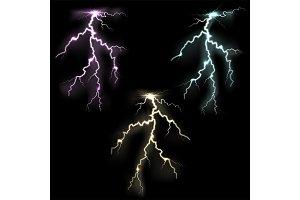 Lightning flash light