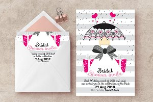 Bridal Shower Flyer Print Templates
