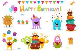 Birthday Monsters Set Vol.2