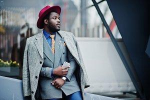 Stylish African American man model i