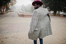 Stylish African American man model i by  in Beauty & Fashion