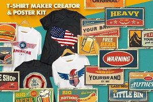 T-Shirt Maker Creator Kit